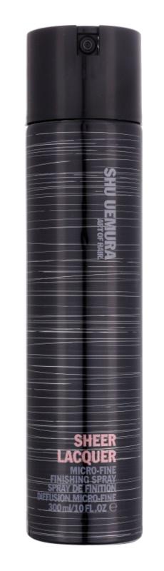Shu Uemura Sheer Lacquer лак для волосся для кучерявого волосся