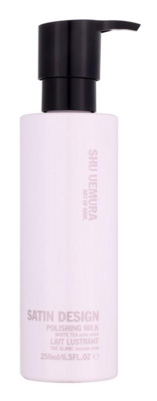Shu Uemura Satin Design gladilno in hranilno termo zaščitno mleko