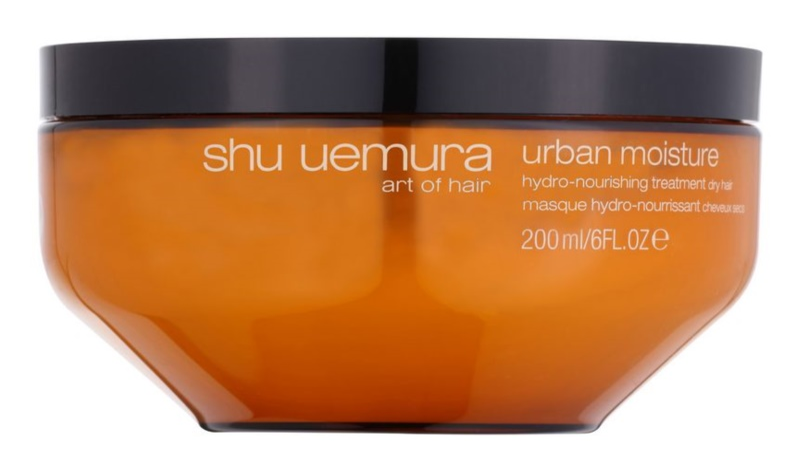 Shu Uemura Urban Moisture maska pre suché vlasy