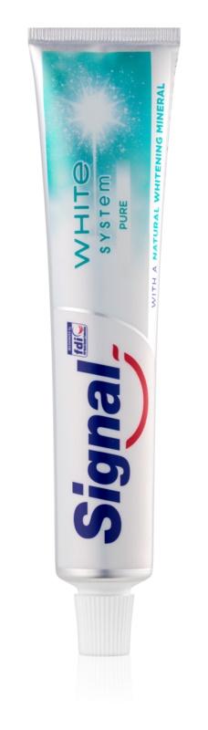 Signal White System Pure bělicí zubní pasta