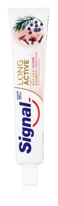 Signal Long Active Natural Elements pasta de dinti pentru dinti sensibili