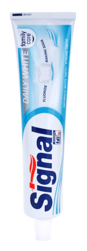 Signal Daily White Toothpaste With Whitening Effect