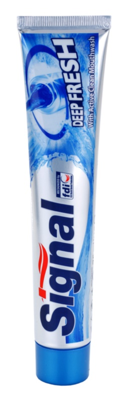 Signal Deep Fresh dentífrico para hálito fresco