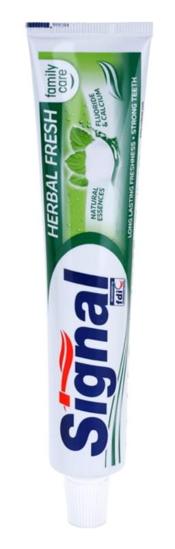 Signal Herbal Fresh dentífrico