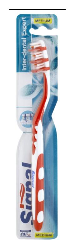 Signal Inter-Dental Expert escova de dentes medium