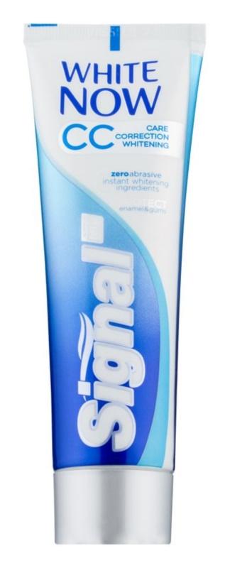 Signal White Now CC bělicí zubní pasta pro kompletní péči