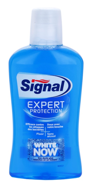 Signal White Now Expert Protection Mouthwash With Whitening Effect