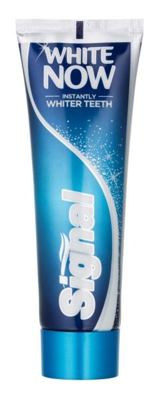 Signal White Now dentífrico com efeito branqueador