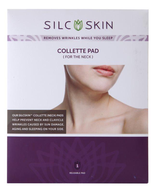SilcSkin Collette Pad silikonové polštářky na zpevnění a proti vráskám v oblasti krku