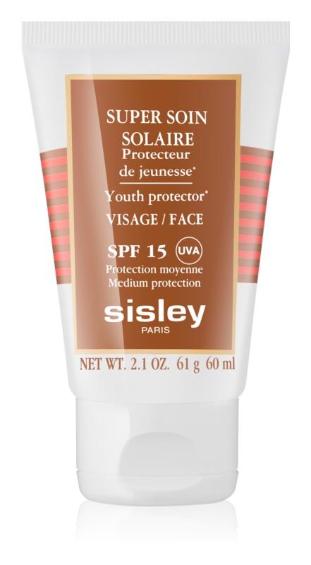 Sisley Sun Waterproef Zonnebrandcreme voor Gezicht SPF 15