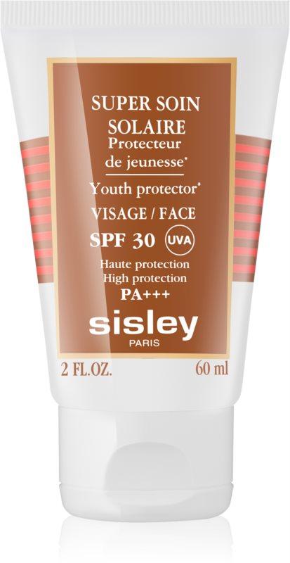 Sisley Sun водостійкий крем для обличчя для засмаги SPF 30
