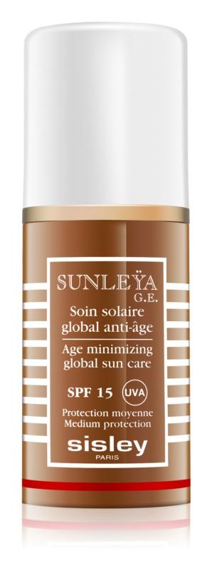 Sisley Sun schützende Creme gegen Hautalterung LSF 15