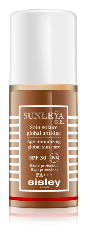 Sisley Sun crema protectoare impotriva imbatranirii pielii SPF 30