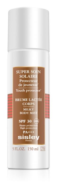 Sisley Sun lapte de corp pentru soare rezistent la apa SPF 30
