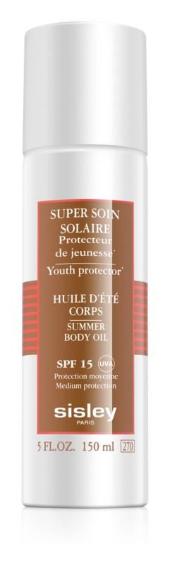 Sisley Sun ulei de corp SPF 15