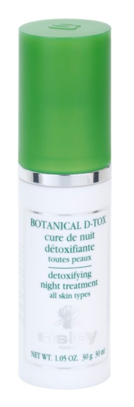 Sisley Botanical D-Tox noční detoxikační péče