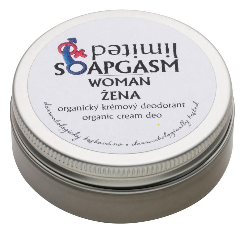 Soaphoria Soapgasm Woman Antiperspirant Cream