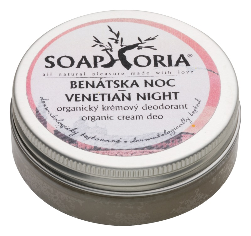 Soaphoria Venetian Night Antiperspirant Cream