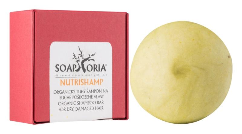 Soaphoria Hair Care Champú orgánico sólido para cabello seco y dañado