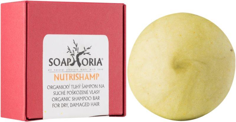 Soaphoria Hair Care organický tuhý šampon pro suché a poškozené vlasy