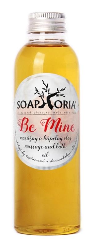 Soaphoria Be Mine Bath And Massage Oil
