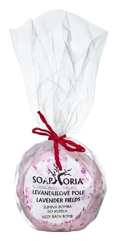 Soaphoria Lavender Fields шипучі бомбочки для ванни з відновлюючим ефектом