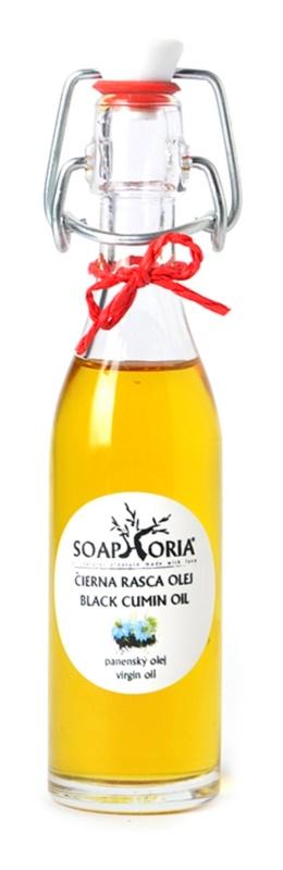 Soaphoria Organic olej z černého kmínu pro problematickou pleť, akné