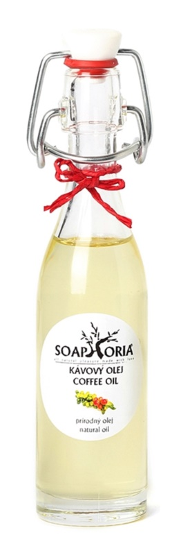 Soaphoria Organic Cosmetic Oil with Coffee