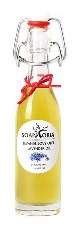 Soaphoria Organic лавандова заспокійлива олійка