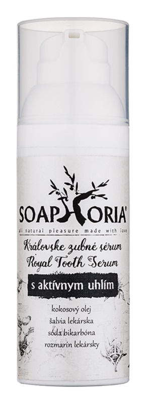 Soaphoria Royal Tooth Serum Dental Serum with Activated Charcoal