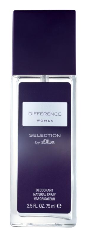 s.Oliver Difference Women дезодорант з пульверизатором для жінок 75 мл
