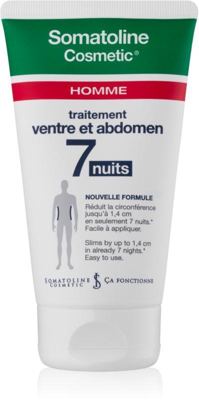 Somatoline Homme Nuit 7 crema cu efect de slabire pentru burta si solduri pentru barbati
