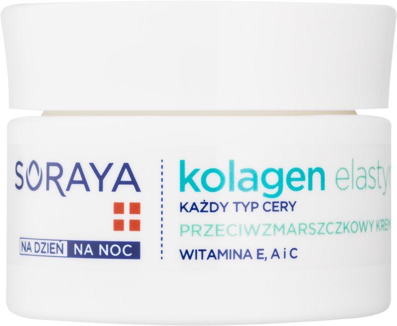 Soraya Collagen & Elastin protivráskový krém s vitamíny