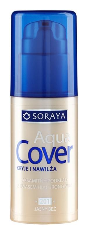 Soraya Aqua Cover krycí make-up s hydratačným účinkom