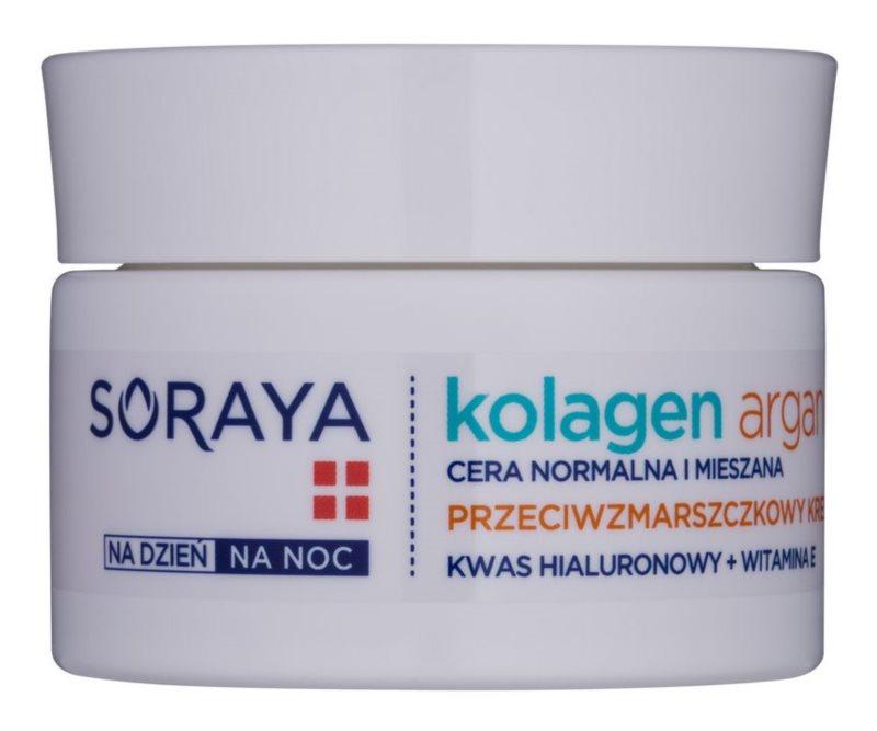 Soraya Collagen & Argan hydratační protivráskový krém s kyselinou hyaluronovou