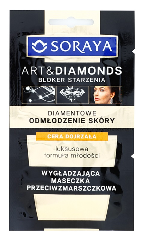 Soraya Art & Diamonds glättende Maske mit Antifalten-Effekt