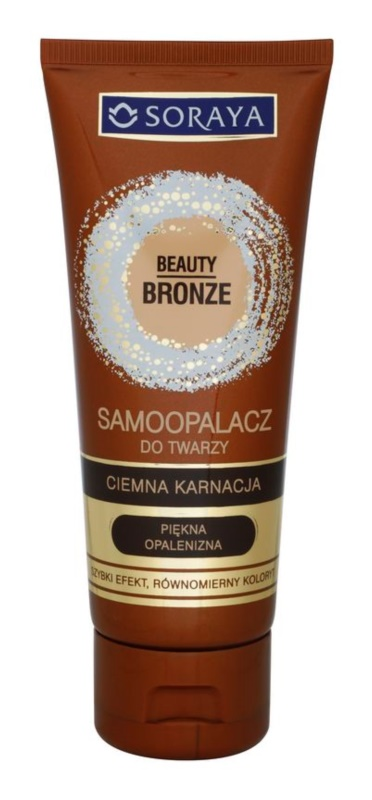 Soraya Beauty Bronze Self-Tanning Face Cream for Darker Skin Tones