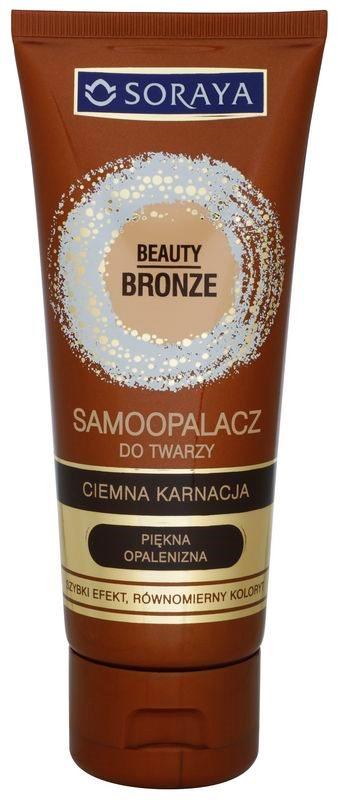 Soraya Beauty Bronze Zelfbruinende Gezichtscrème voor Donkere Huid