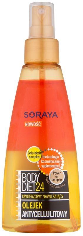 Soraya Body Diet 24 feuchtigkeitsspendendes 2-Phasen-Öl gegen Zellulitis