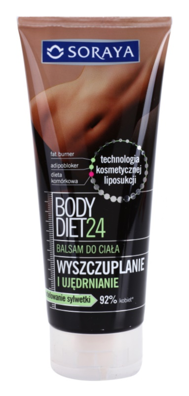 Soraya Body Diet 24 lotiune pierdere in greutate pentru fermitatea pielii