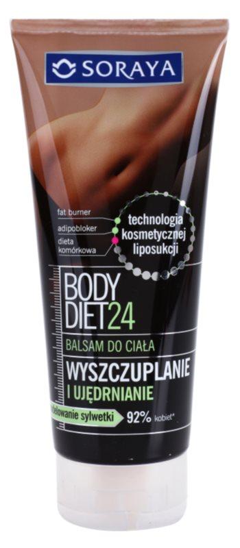 Soraya Body Diet 24 zeštíhlující balzám pro zpevnění pokožky