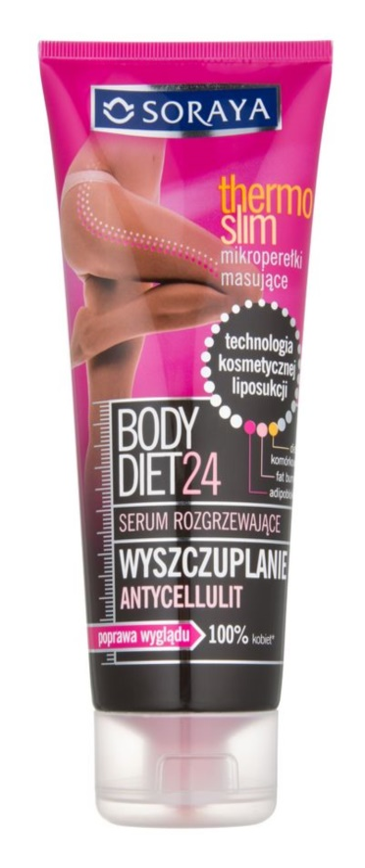 Soraya Body Diet 24 wyszczuplające serum antycelulitowe rozgrzewające