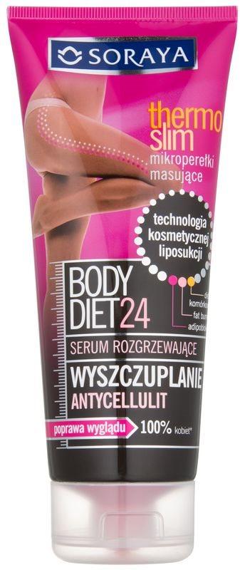 Soraya Body Diet 24 zeštíhlující sérum proti celulitidě s hřejivým účinkem