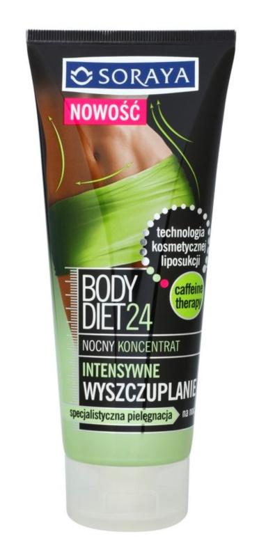 Soraya Body Diet 24 skoncentrowana pielęgnacja na noc intensywnie odchudzająca