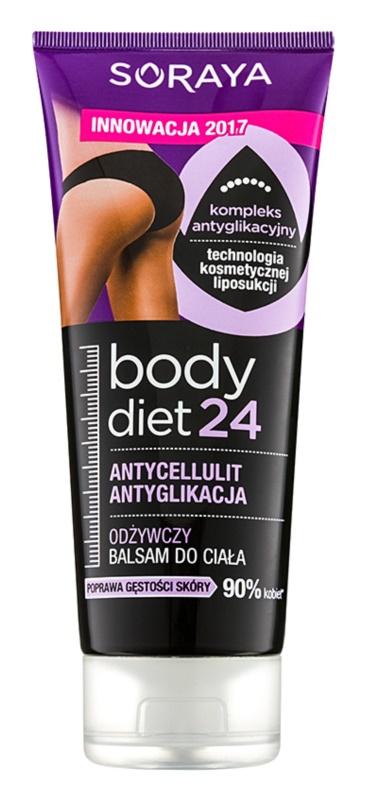 Soraya Body Diet 24 balsam nutritiv anti celulita