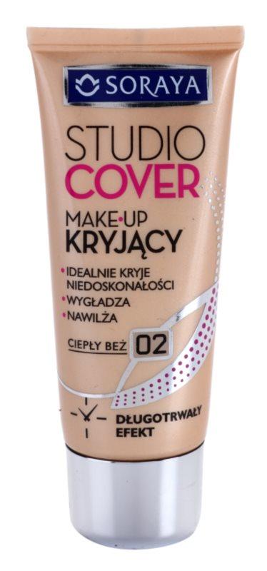 Soraya Studio Cover krycí make-up s vitamínom E