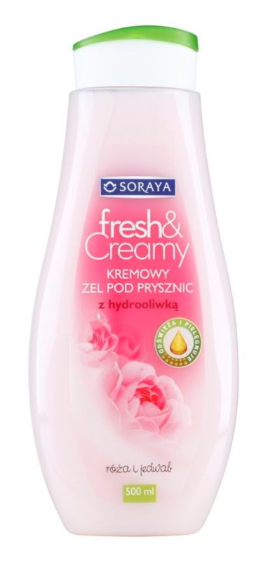 Soraya Fresh & Creamy Creamy Shower Gel with Nourishing Effect