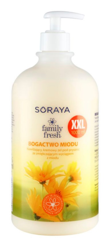 Soraya Family Fresh gel cremos pentru dus cu miere