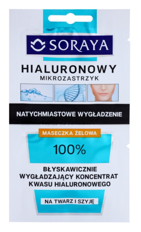 Soraya Hyaluronic Microinjection intenzivní liftingová maska s kyselinou hyaluronovou