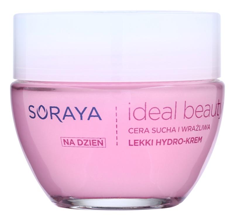 Soraya Ideal Beauty könnyű hidratáló krém száraz és érzékeny bőrre